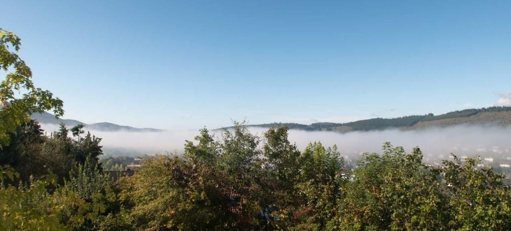 Wunderschöner Ausblick ins Tal